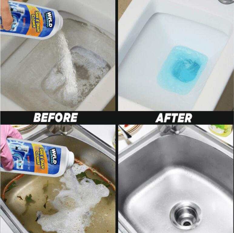 What is wild tornado sink and drain cleaner?