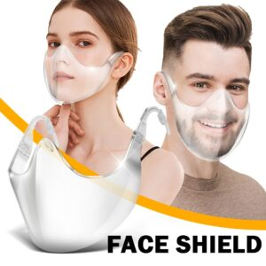 Transparent Face Cover