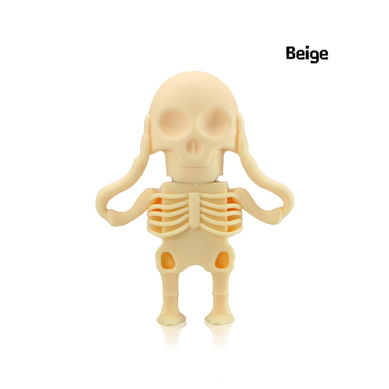 Beheaded Skeleton USB Drive