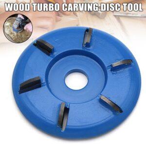 6 Teeth Wood Carving Disc