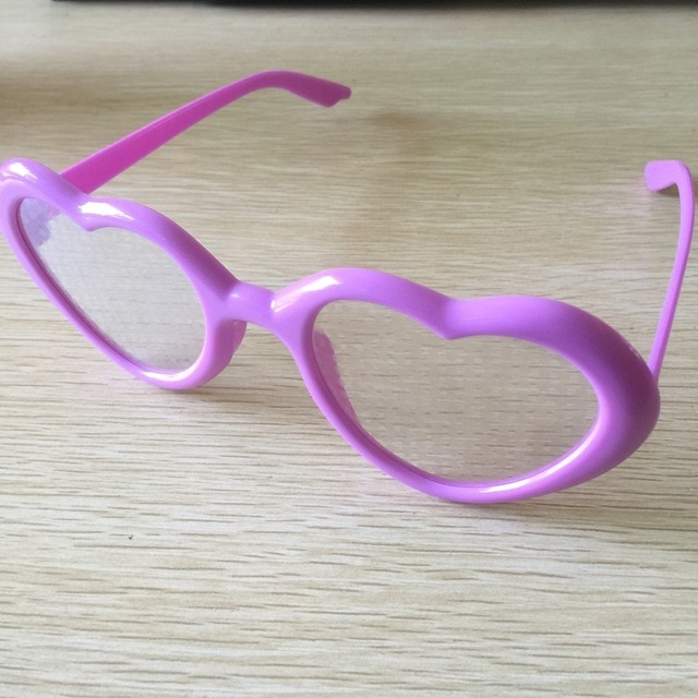 Heart Lenses Refraction Glasses