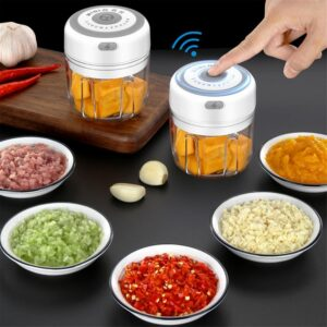 Electric Mini Vegetable Chopper