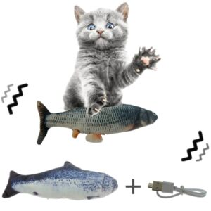 Cat Kicker Fish Toy