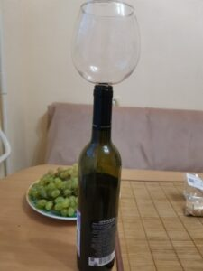 Wine Bottle Glasses Corks photo review