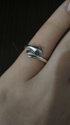 Silver Hug Ring photo review