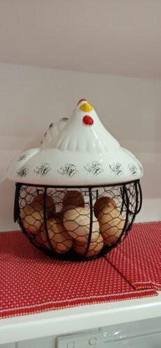 Hen Egg Storage Basket photo review