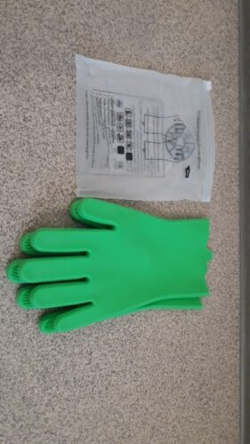 Magic Silicone Cleaning Gloves photo review