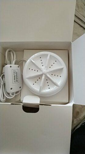 Mini Ultrasonic Washing Machine photo review
