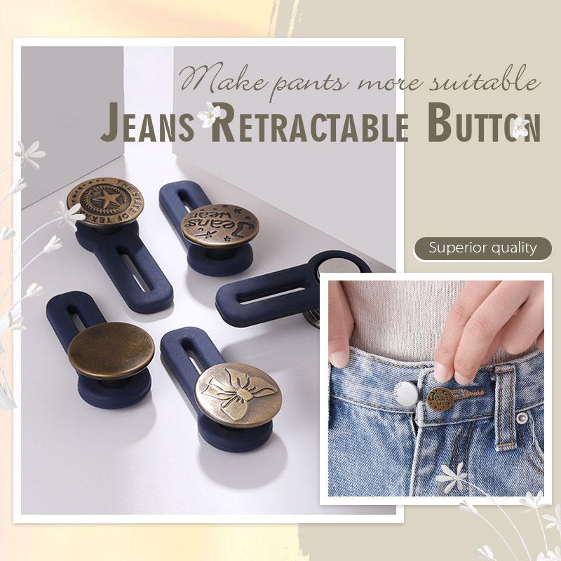 Jeans Retractable Button (3PCS)