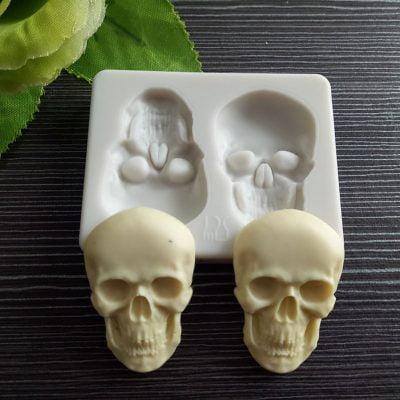 3D Skull Silicone Mold