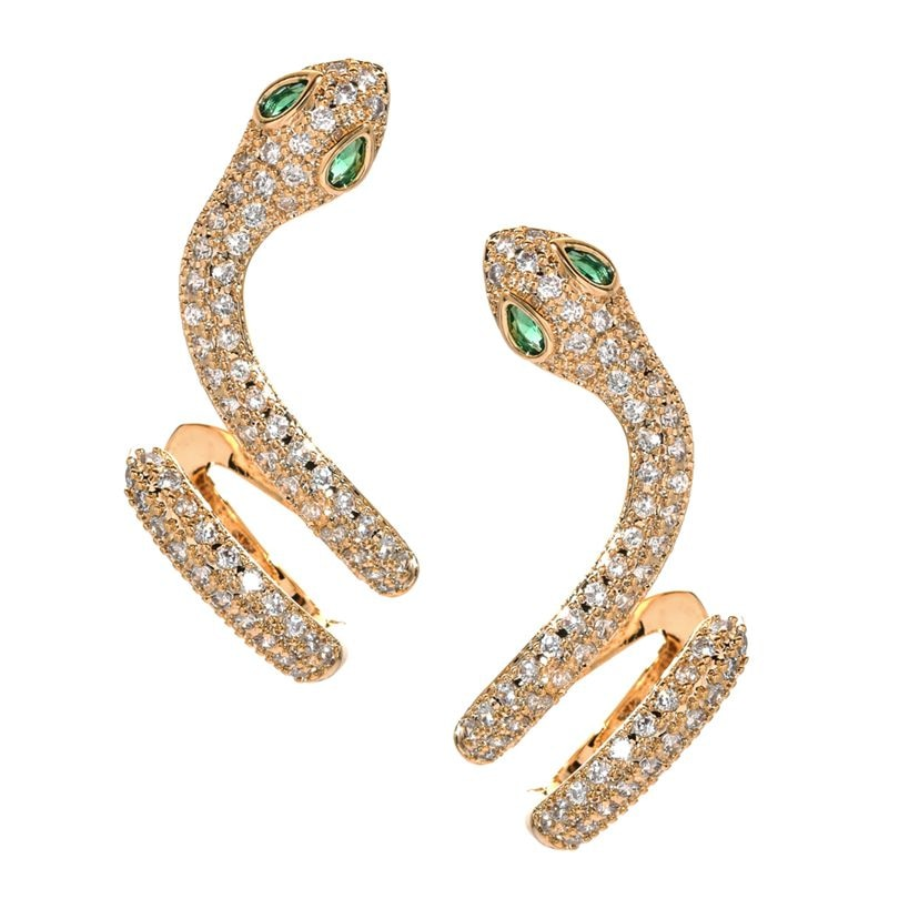 Snake Climbers Earrings