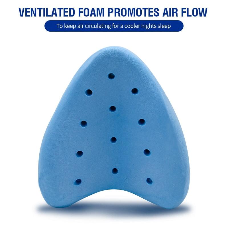 Pelvic Pillow™ - Orthopedic Leg Pillow With Memory Foam