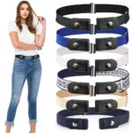 Buckle-free-Invisible-Elastic-Waist-Belts
