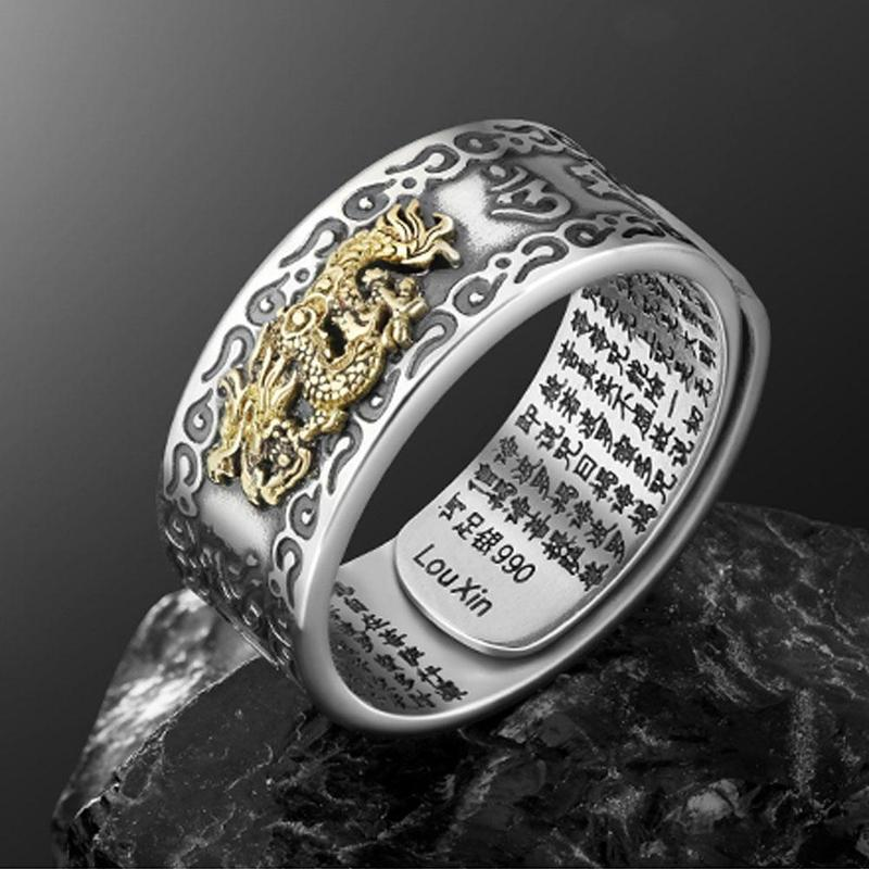 Mantra Lucky Feng Shui Ring