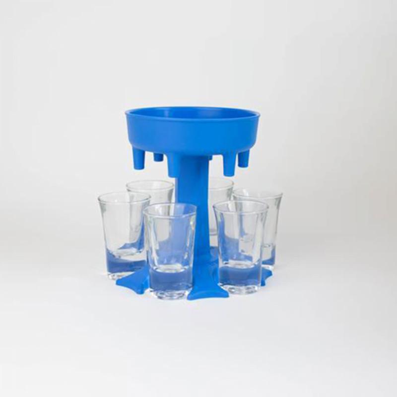 6 Shot Glass Dispenser