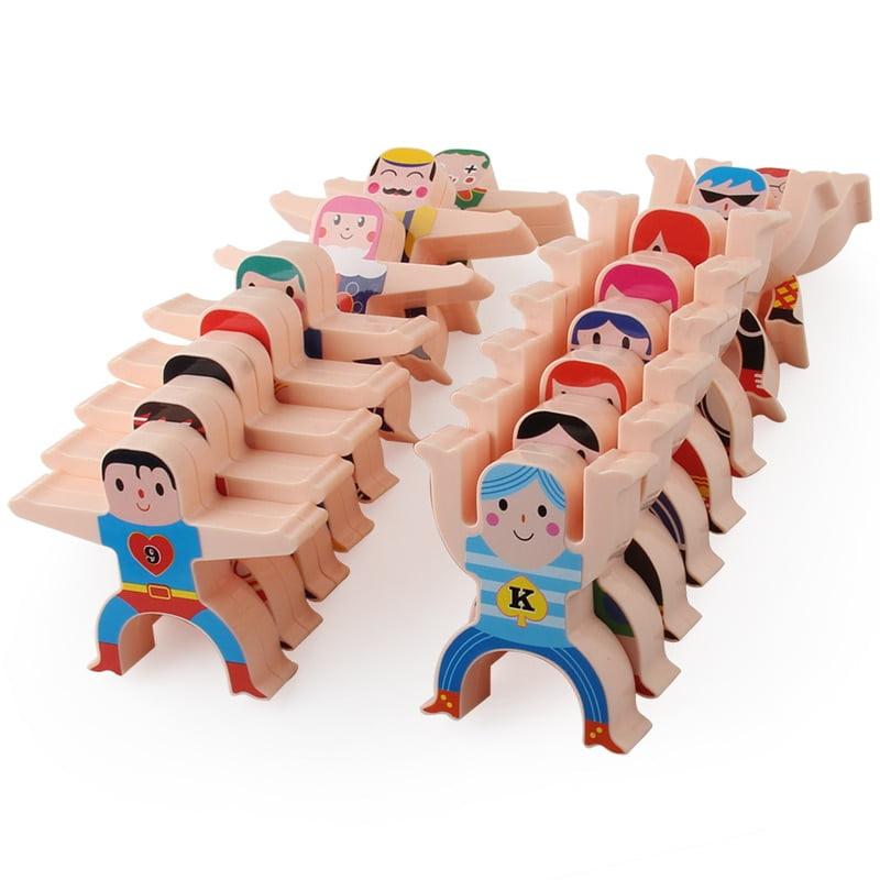 Hercules Jenga Balance Building Blocks Toy 16PCS