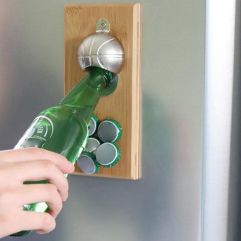 Wall Mount Basketball Bottle Opener