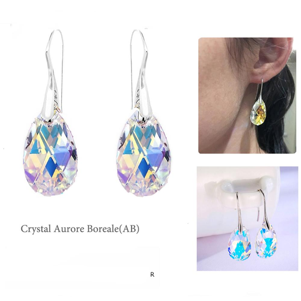Aurora Borealis Drop Earrings