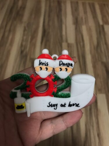 2020 Dated Christmas Ornament photo review