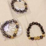 Feng Shui Black Stone Bracelet(Pixiu Bracelet) photo review