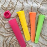 Colorful Silicone Ice Pop Mold Set 3pcs photo review