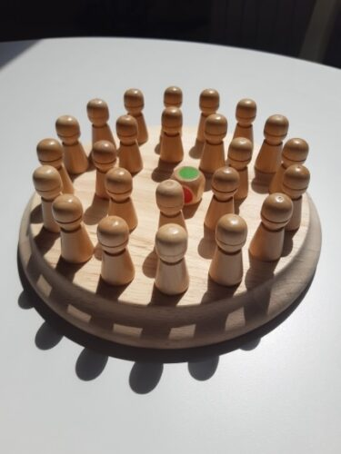 Wooden Memory Match Stick Chess photo review