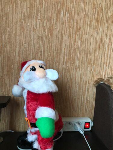 Dancing Santa photo review