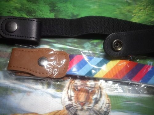 Buckle-free Invisible Elastic Waist Belts photo review
