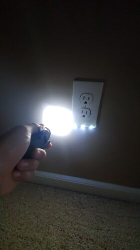 Outlet Wall Plate With Led Night Lights photo review