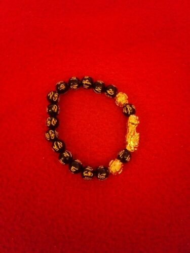 Feng Shui Black Stone Bracelet(Pixiu Bracelet) photo review