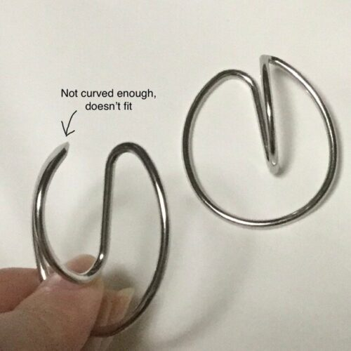 Hooping Ear Cuff photo review