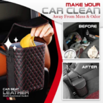 Car Seat Leather Multifunctional Basket (3)