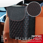 Car Seat Leather Multifunctional Basket (4)