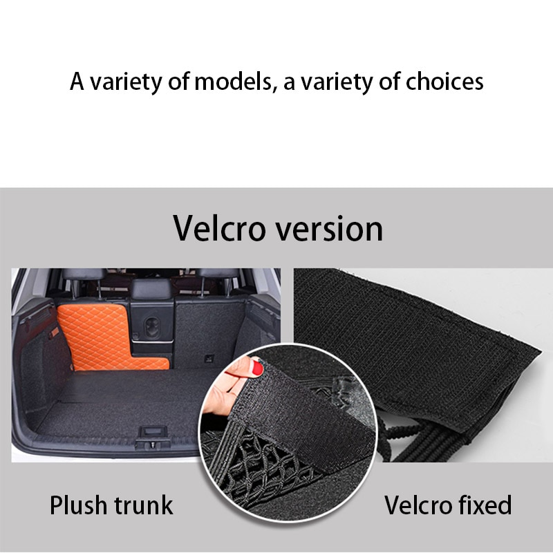 Car Velcro Trunk Net Pocket