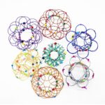Magic Mandala Flower Basket Toy
