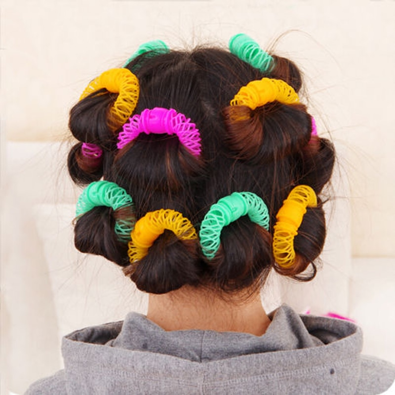 Donut Hair Natural Curlers