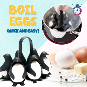 Penguin-Shaped Egg Boils Holder