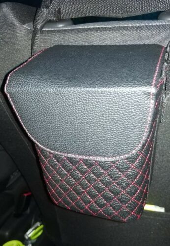 Car Seat Leather Multifunctional Basket photo review