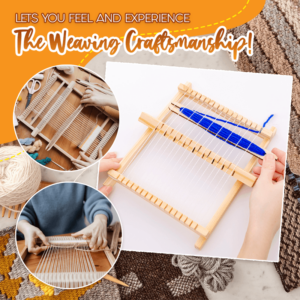 DIY Wooden Wool Knitting Machine