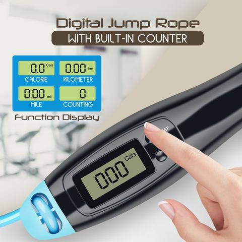 Digital Counting Jump Rope