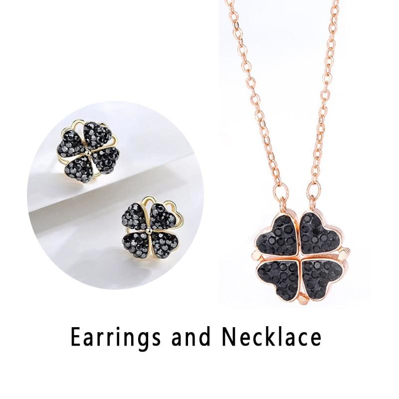 Four Leaf Clover Necklace 1