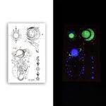 Glow-In-The-Dark-Tattoo-Sticker-Set