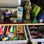 Hidden Under Desktop Drawer photo review