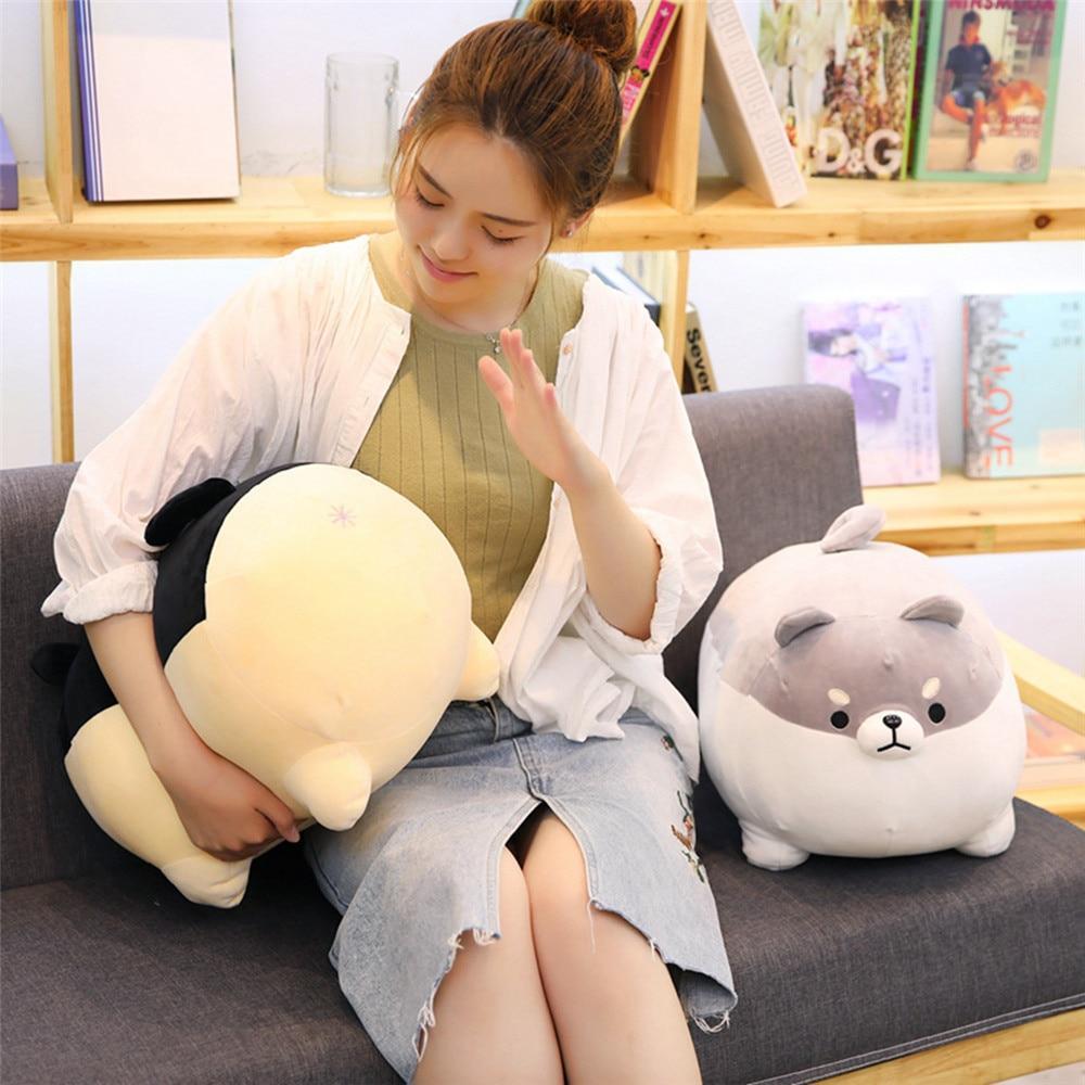Plushie Angry Shiba Pillow