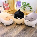 Plushie-Angry-Shiba-Pillow-(40cm-50cm)