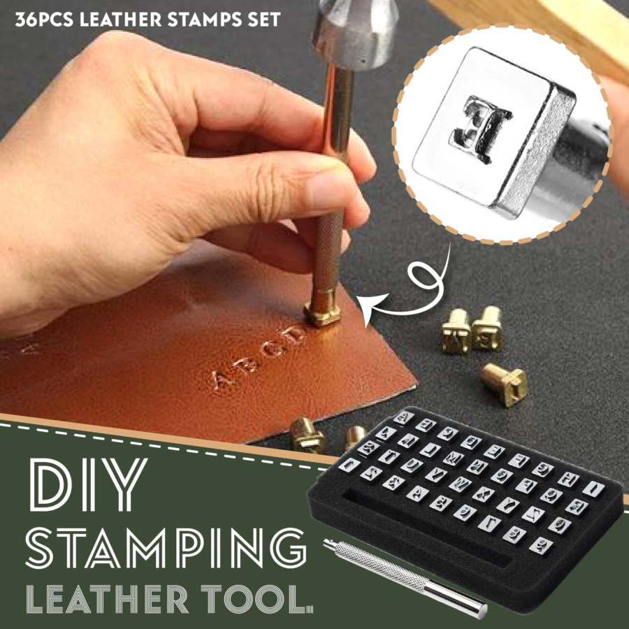 DIY Stamping leather Tool