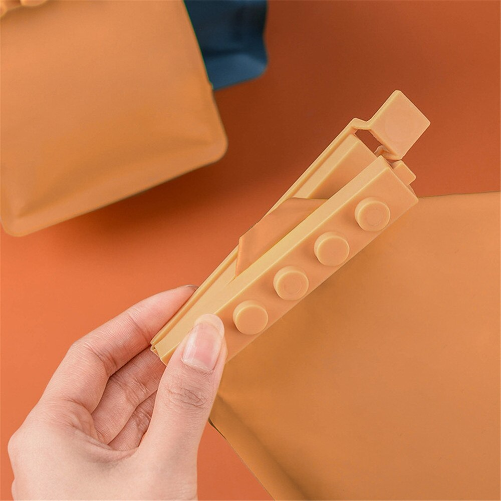 Building Block Sealing Clips