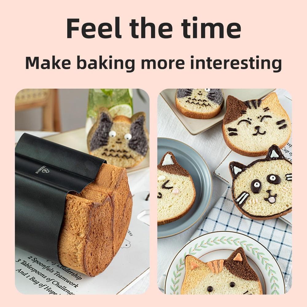 Cat Toast Mould