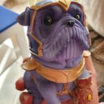 Creative Hero Dog Resin Piggy Bank photo review