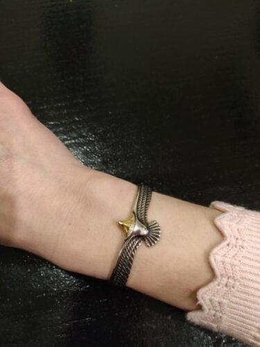 Adjustable Eagle Bracelet photo review
